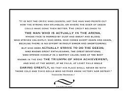 Mondays Meditation On Being In The Arena Live Simply By Annie