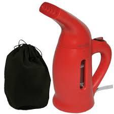 Shop Red <b>800W</b> Handheld One-touch Operation <b>Garment Steamer</b> ...