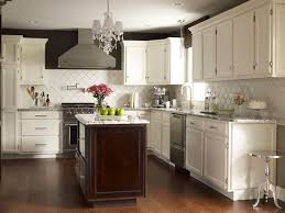 cote de texas stunning two tone kitchen design with kitchen wall colors with dark brown cabinets