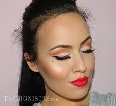 modern pin up makeup tutorial