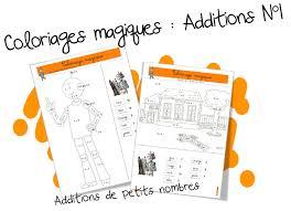 Coloriages Magiques Bdg Les Additions De Petits Nombres Bout