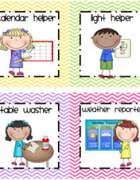 Classroom Helpers Pocket Chart Helper Chart Pictures For Preschool Bedowntowndaytona Com
