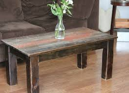 Custom Made Barnwood Coffee Table Good Ideas