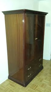 description armoire tall bedroom dresser drawers clothes storage closet