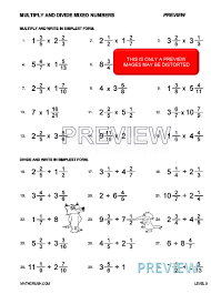 Adding Fractions And Decimals Together Worksheets | How To