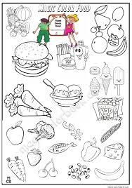 Small Picture Magic Food Coloring Pages