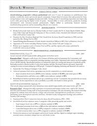 Executive Pastry Chef Resume Sample Resume Resume Examples
