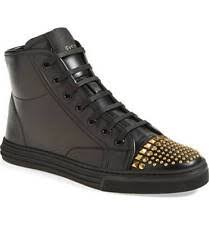 gucci 11s. $650 new gucci women\u0027s california studded black leather high top sneaker 41 / 11 gucci 11s