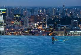 Beautiful Infinity Pool Skypark Marina Bay Sands Hotel Macau Intended Inspiration Decorating