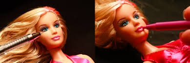 how to give a barbie a makeover