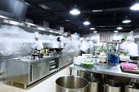 restaurant kitchen lighting. How To Choose The Best Modern Kitchen Lighting For Large Kitchens Restaurant