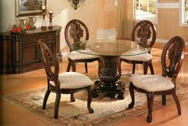 round oak dining table glass top. full image for lyon glass oak dining table top round and