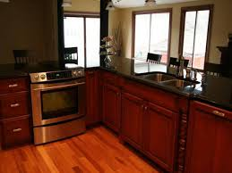 Kitchen Cabinets Painted Red Kitchen Cabinet Paint Colors Black Appliances Black Appliance
