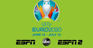 euro 2020 tv schedule and streaming