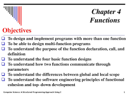 Top Down Design Definition Chapter 4 Functions Objectives Ppt Download
