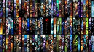 dota 2 hd wallpaper edited to include all heroes dota2