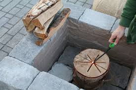 paver patio with fire pit. Fine Fire PatioPaver_TheRusticLife16 Intended Paver Patio With Fire Pit