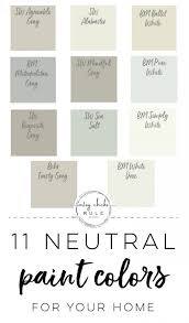 11 neutral paint colors for your home
