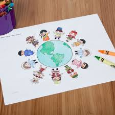 Small Picture Its a Small World Coloring Page Disney Family