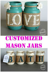 How To Decorate Canning Jars Cute Mason Jar Decorations Home Decor 100 40