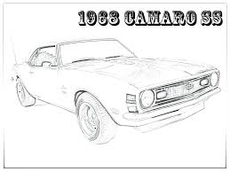 camaro coloring pages cars blebee 1024x768 16