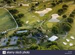 Aerial view of the Patriots Point golf course in Mount Pleasant ...