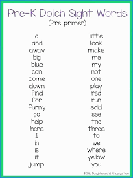 Kindergarten Sight Words Worksheets Pdf @ Printable Free Sight Word ...