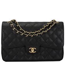 Chanel Black Quilted Caviar Jumbo Classic Double Flap Bag Gold ... & Chanel Black Quilted Caviar Jumbo Classic Double Flap Bag Gold Hardware # chanel Adamdwight.com