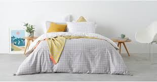ludo 100 cotton bed set double grey white uk bedding sets bedding made com
