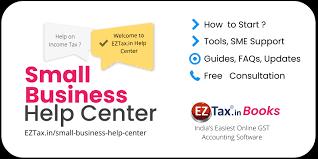 Small Business Help Center | EZTax.in