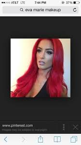 tell me about it i d love to find this color red can loreal have this bright of a result it s eva maria from total divas