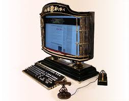 seriously steampunk computer envy