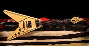 Gibson Designer Series Gibson 1984 Flying V Designer Series 31t Rumble Seat Music