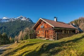 A remote cabin.