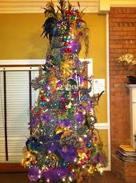 mardi gras christmas tree trendy tree blog holiday decor