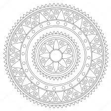 Disegni Vettoriali Mandala Disegni Da Colorare Mandala Fiore
