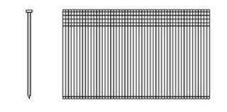 spotnails pneumatic fasteners 1 1 4 in 18 gauge galvanized brads 18520 fastener warehouse