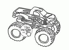 Small Picture Monster Truck Max D coloring page for kids transportation