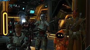 Swtor Groupshots whole crew in cartel armour which I got from GTN credits - Album on Imgur