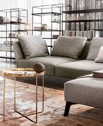 studio living room furniture. Wonderful Studio This Composition By LEMA Features The Simple Elegance Of Gray Sofa  Contrasted Warm Ginger Honey Tonalities Carpet Supplemented  Throughout Studio Living Room Furniture