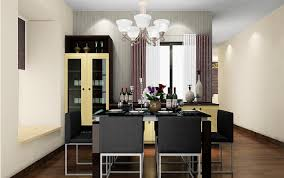 Comtemporary  Dining Room With Bay Window On Formal Dining Room - Bay window in dining room