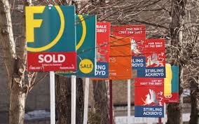 Make A For Sale Sign House Prices Make Biggest Leap In 14 Years Says Land Registry