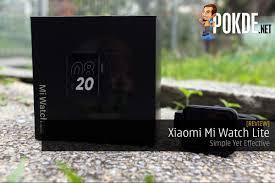 Xiaomi Mi Watch Lite Review — Simple ...