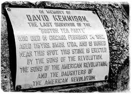 what was the boston tea party pictures a plaque denotes the last survivor of the boston tea party