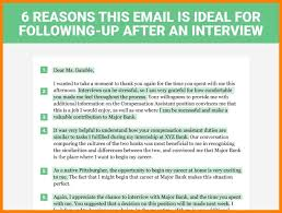 follow up email after phone interview examples 6 reasons this is the perfect thank you letter to send after a job interview