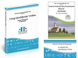 Nonprofit Chart Of Accounts Amazon Com How To Use Quickbooks Online For Your Church