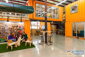 cool office interior design. Architecture Interior Design Main · A Dog-Friendly Office Designed With Shipping Containers Cool