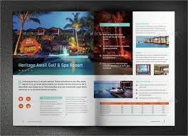 18 One Page Brochure Templates Ai Psd Google Docs