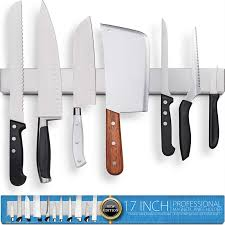 hmmagnets 17 inch stainless steel magnetic knife holder