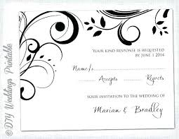 Scroll Template Microsoft Word Rsvp Card Templates Andreasleu